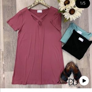 NWOT Elodie Dress, Rose